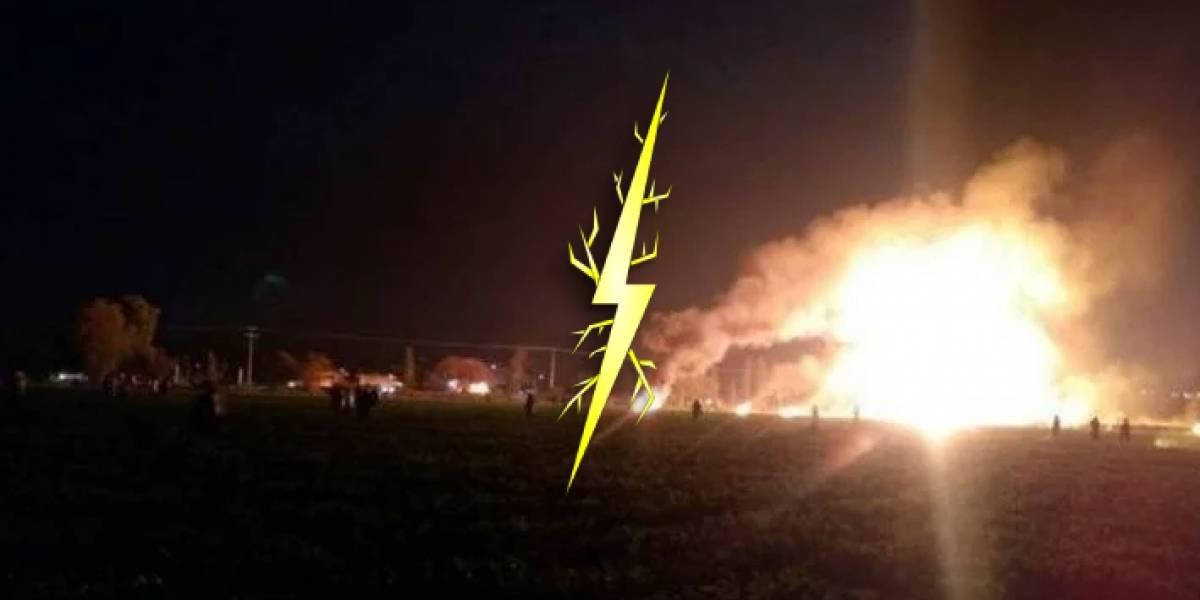 La posible causa de la explosión que ocurrió en Tlahuelilpan