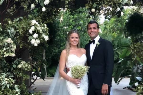 Michael Pierluisi y su esposa