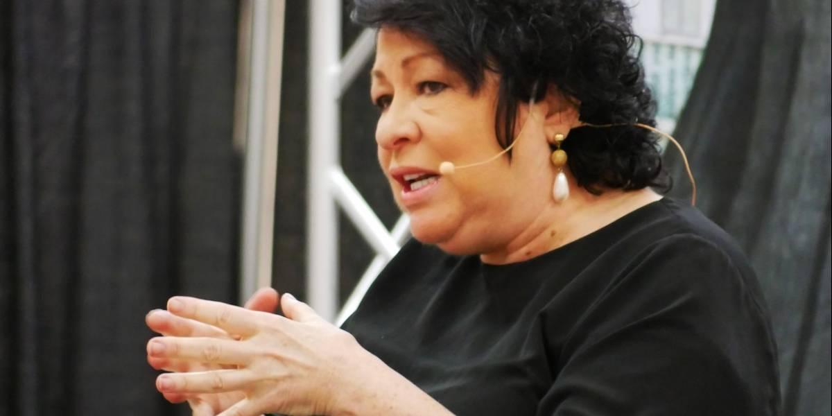 """Jueza Sonia Sotomayor: """"Yo no represento a Puerto Rico. Yo represento la justicia"""""""