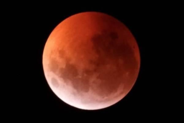 Eclipse total : Luna de Sangre