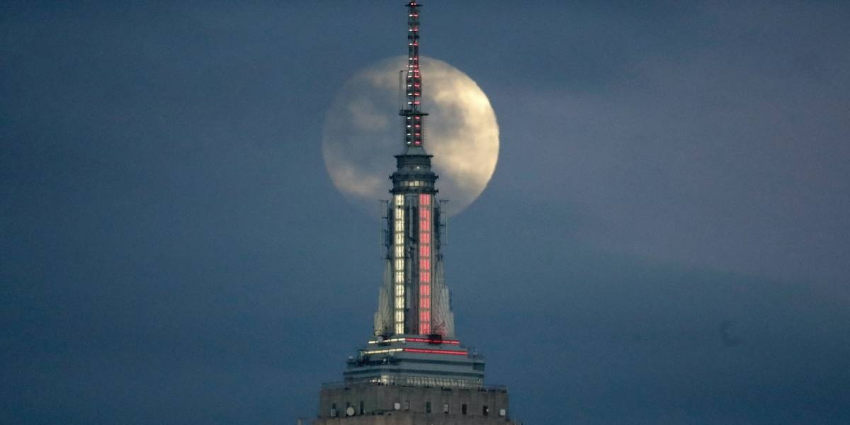 2x1: eclipse total de Luna incluye una superluna de sangre