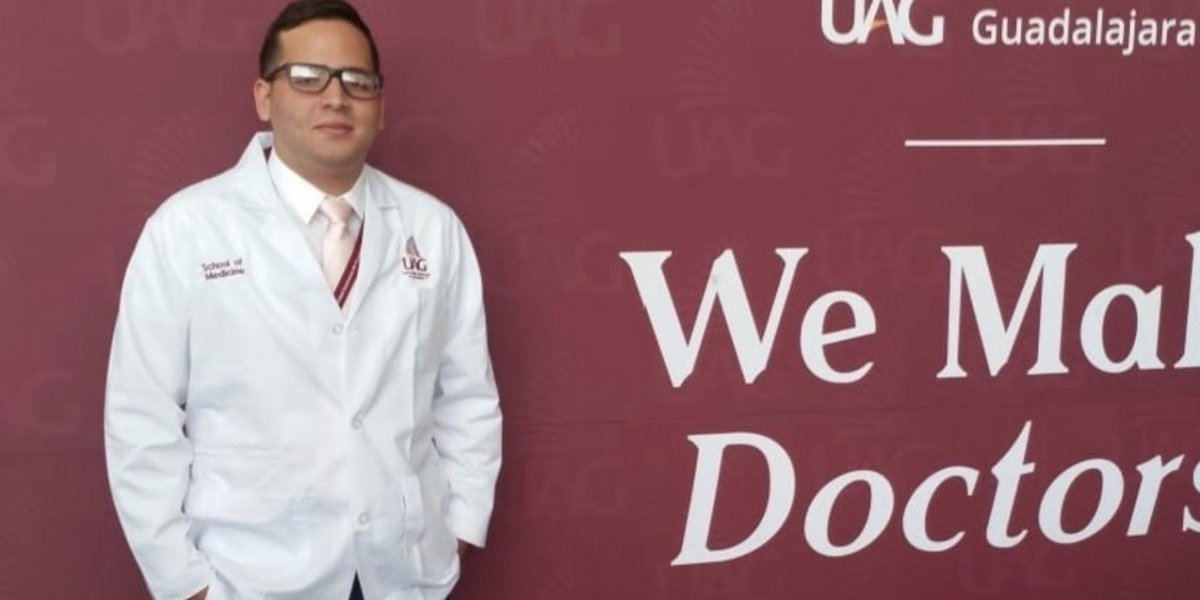 Estudiante boricua de medicina que sufrió accidente en México abrió sus ojos