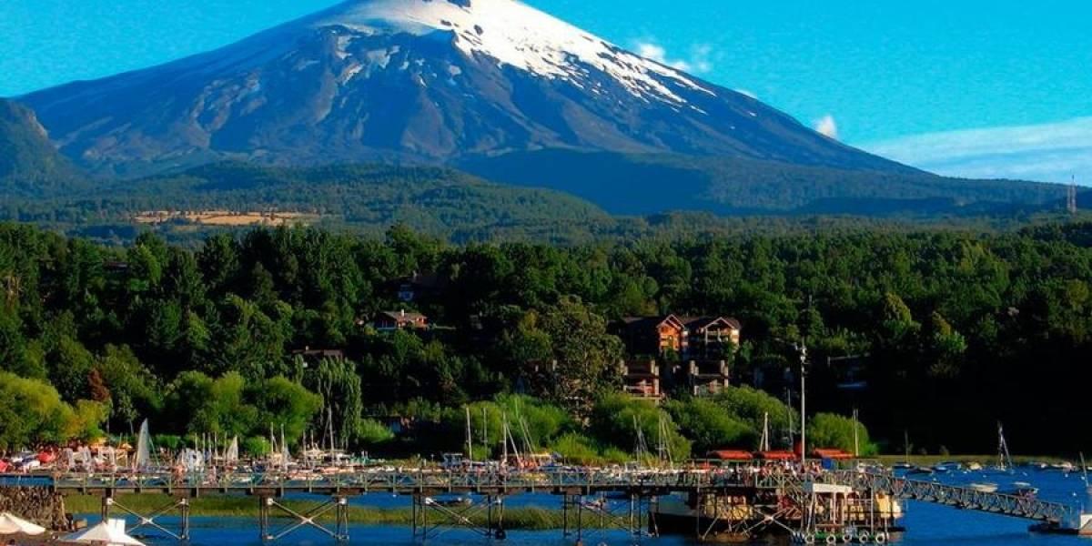 Chile: SHOA instala nueva estación para monitorear el Volcán Villarrica