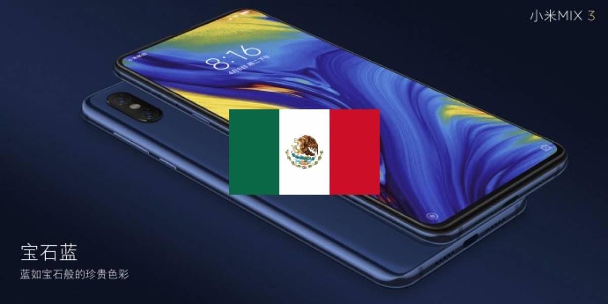 El Xiaomi Mi MIX 3 por fin está en México y llega con todo y garantía, aunque no de manera oficial
