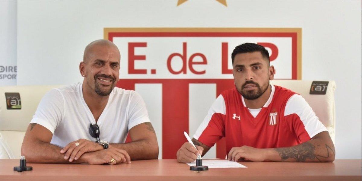 Gonzalo Jara firmó contrato en Estudiantes de La Plata junto al histórico Juan Sebastián Verón