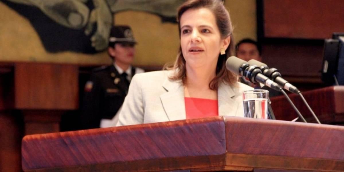 """María Paula Romo: """"Audio filtrado busca distraer al Gobierno"""""""