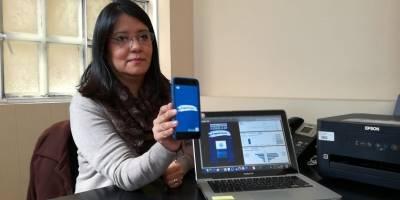 Claudia Rojas, voto en el extranjero TSE.
