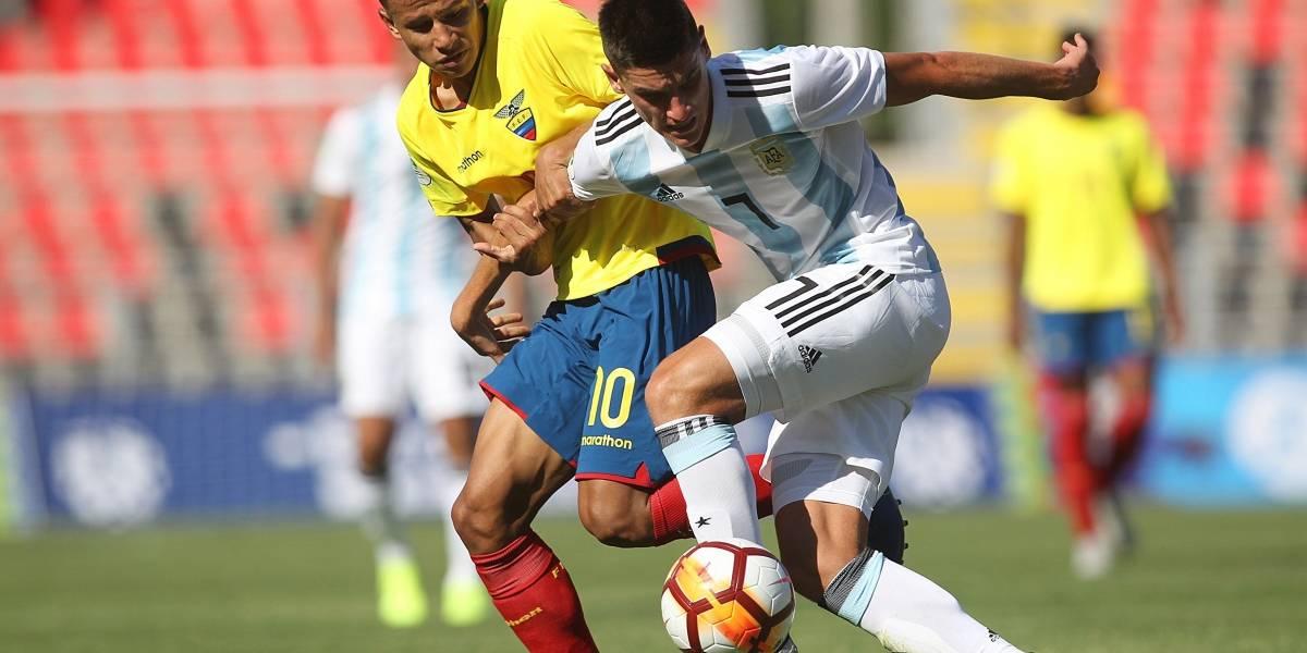 Sudamerica Sub 20: Ecuador da gran paso hacia la clasificación y complica la de Argentina 1 -0