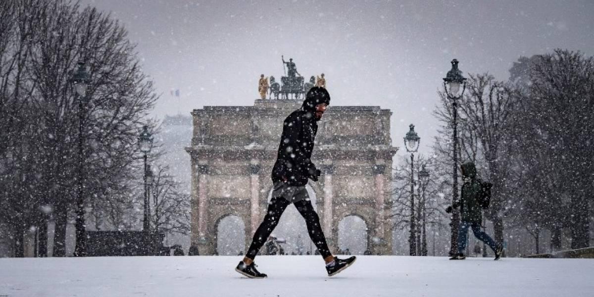 Francia en alerta por fuerte tormenta invernal