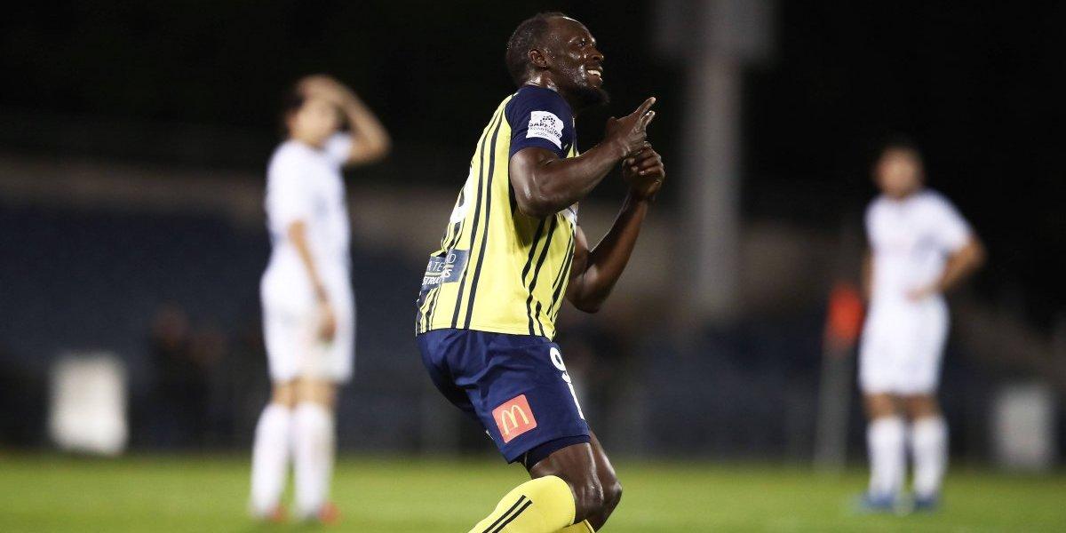 La carrera más corta de Usain: Bolt anunció su retiro del fútbol con sólo tres partidos jugados