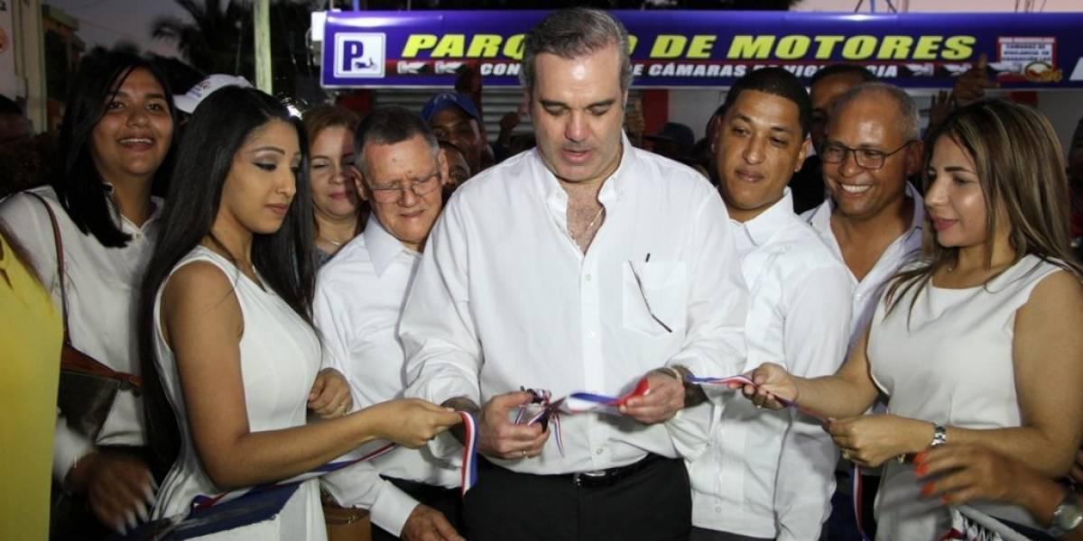 Luis Abinader dice que el cambio no lo detiene nadie en el país