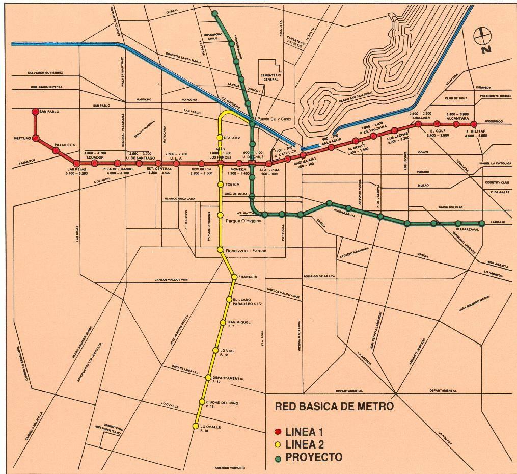 Mapa Línea 3