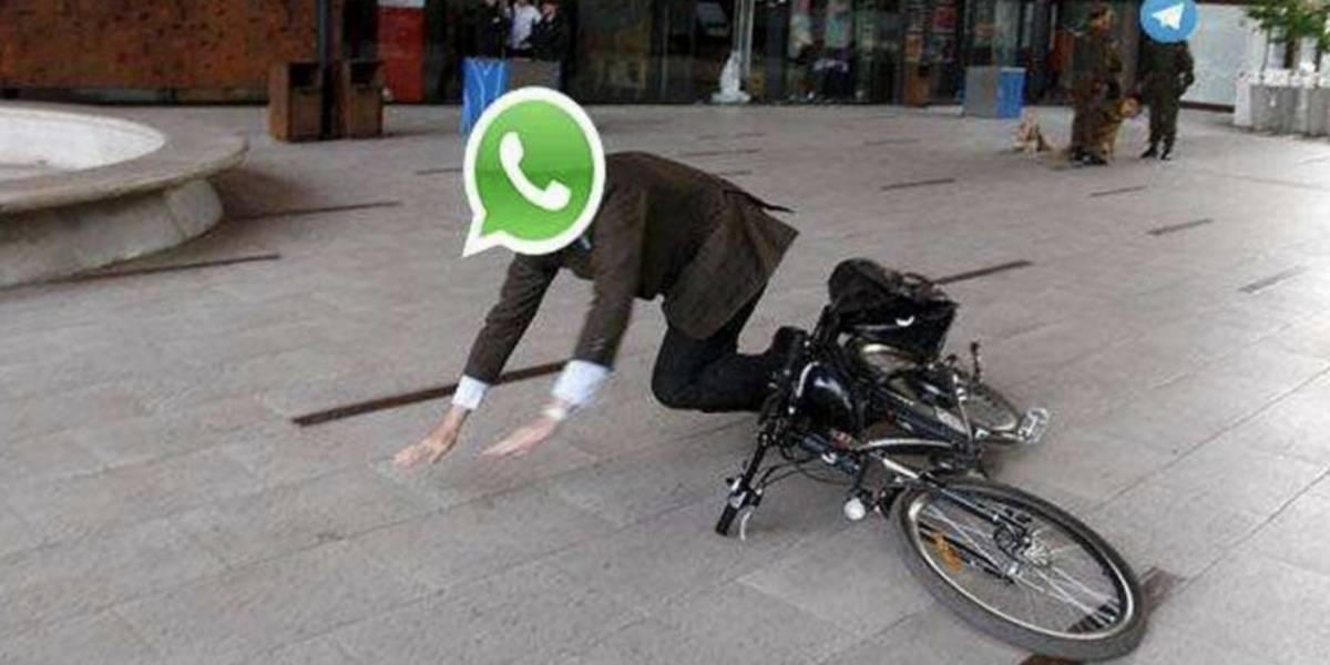 WhatsApp se cayó; usuarios reportan fallas