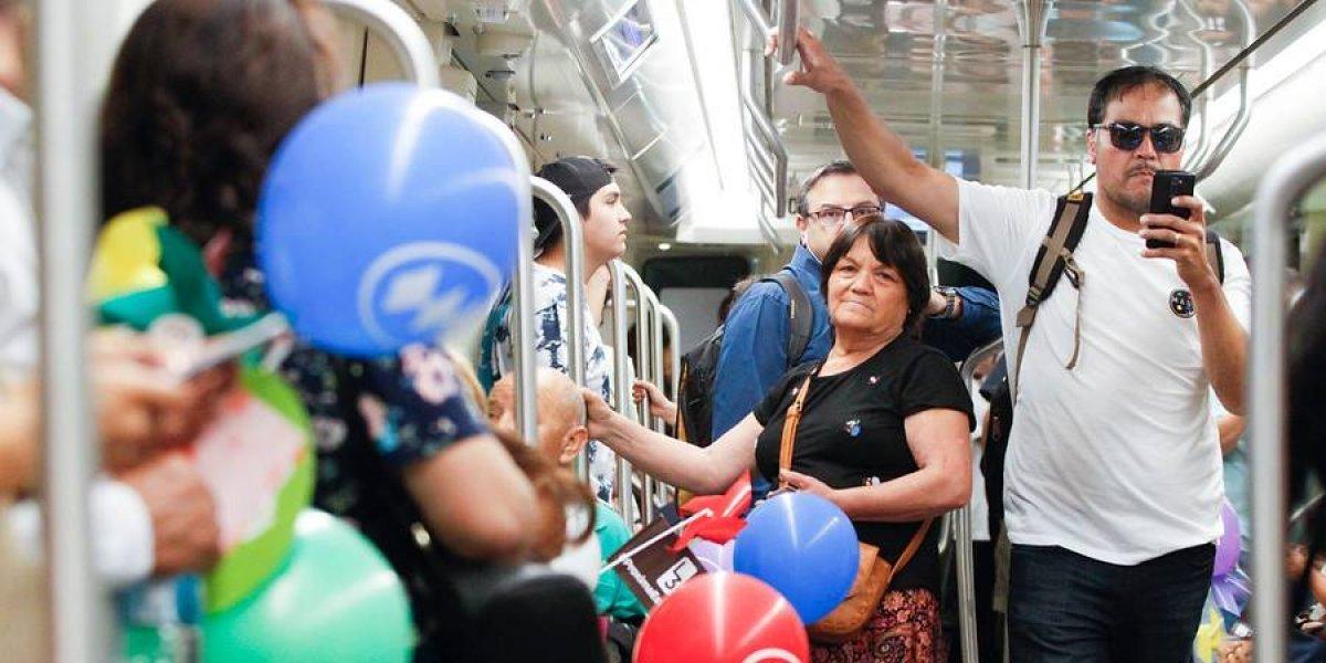 Metros del mundo expresaron sus saludos por nueva Línea 3 de Santiago