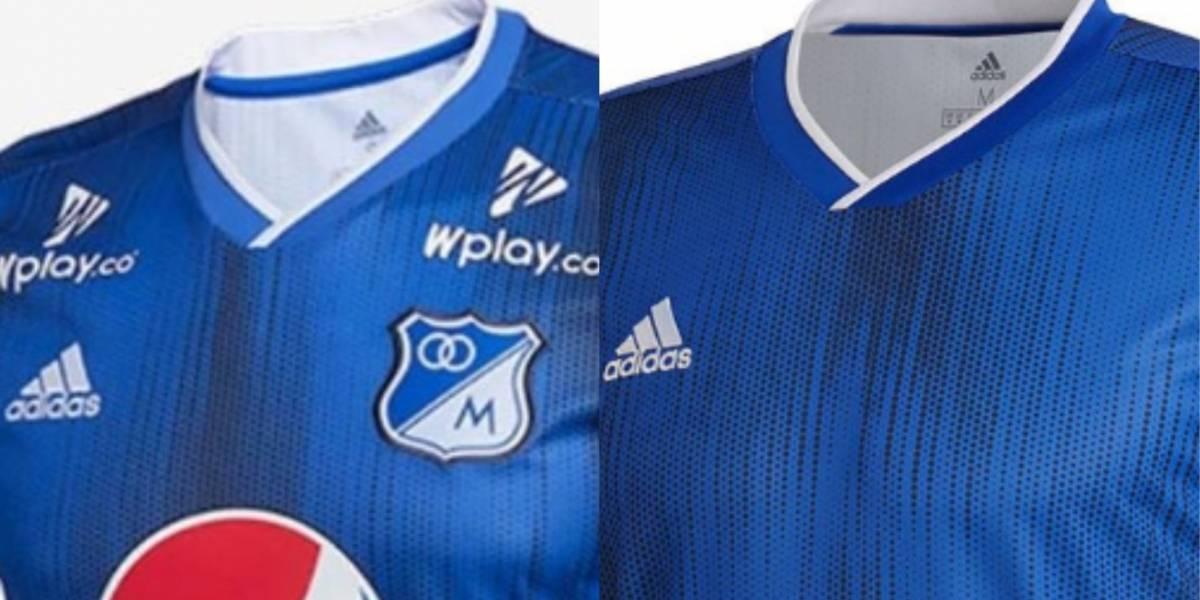 Críticas por la supuesta nueva camiseta de Millonarios para 2019 8d80b833a03