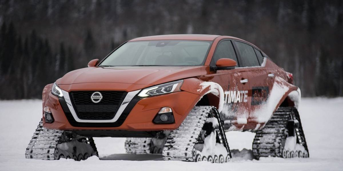 Nissan presenta un Altima más radical y con orugas