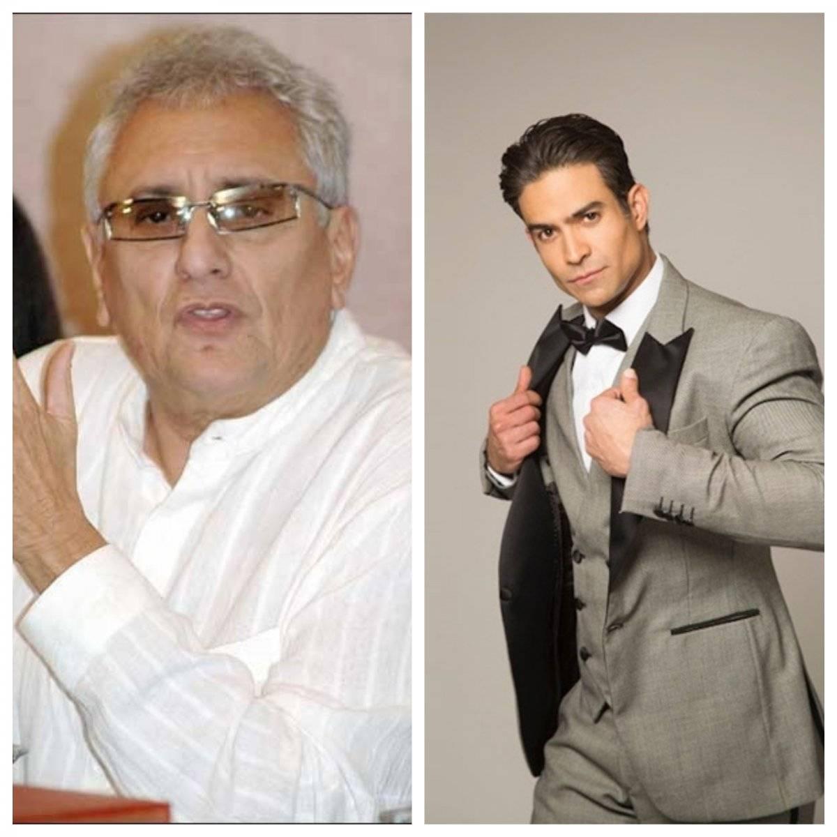 Productor Enrique Gómez y el actor Juan Vidal