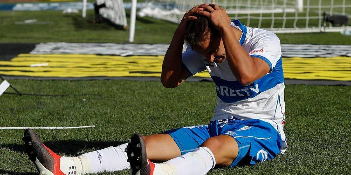 Diego Buonanotte le da los primeros dolores de cabeza a Gustavo Quinteros en la UC