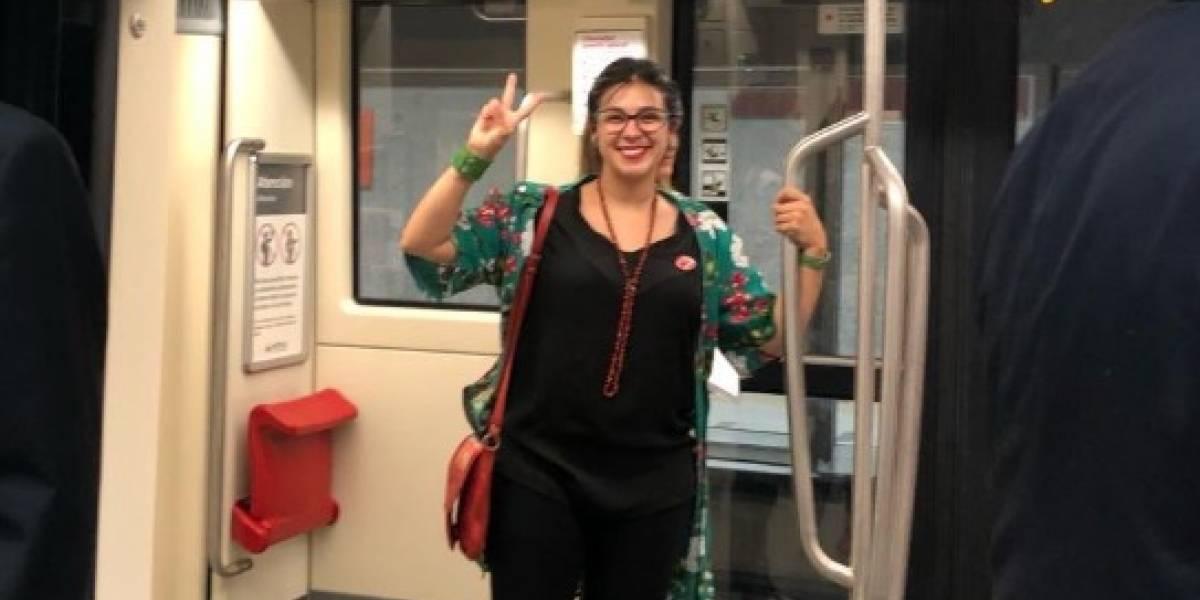Línea 3 del Metro de Santiago: Mira las reacciones en redes sociales de los primeros usuarios en subirse