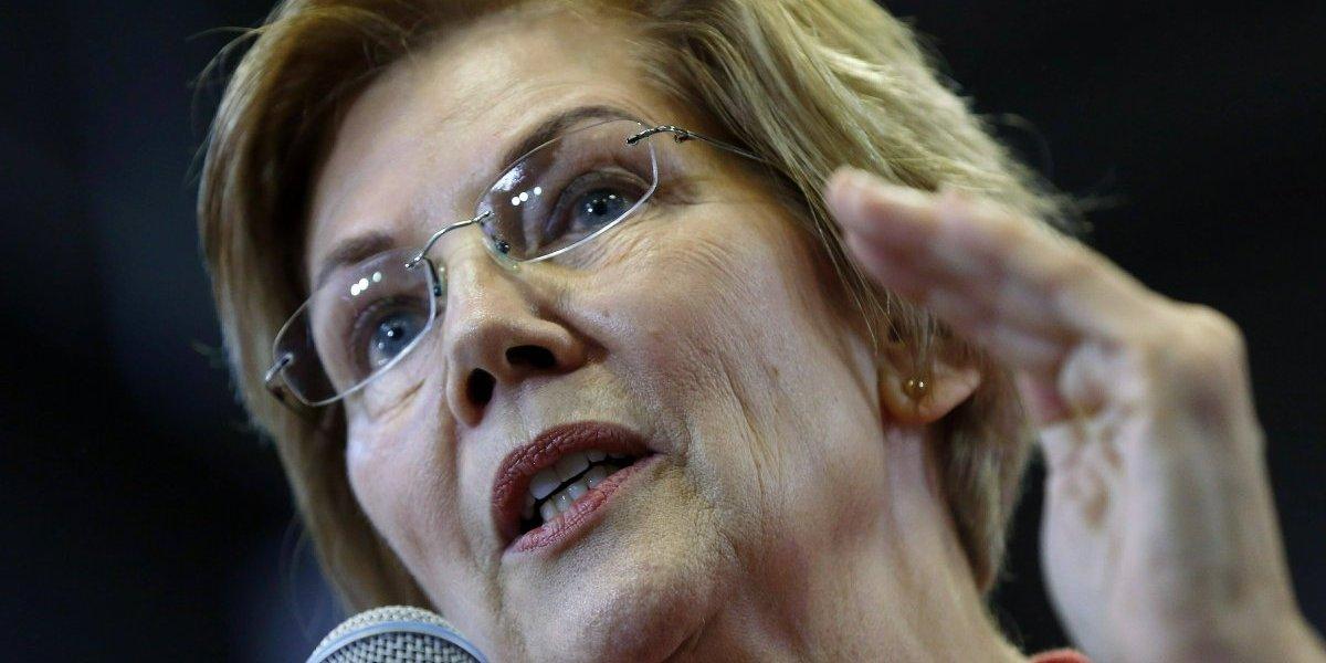 Senadora Warren reclama a Trump desde Puerto Rico