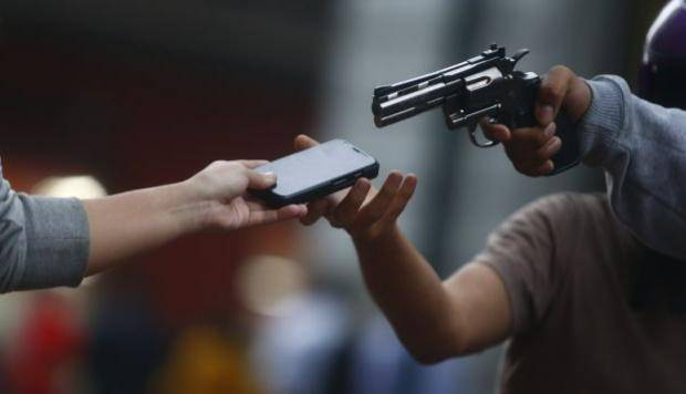 México robo celulares