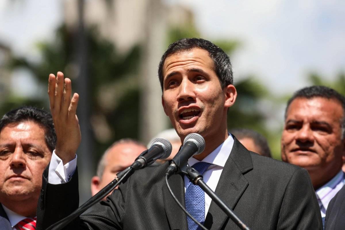 Titular de la Asamblea Nacional (AN, Parlamento) de Venezuela, Juan Guaidó