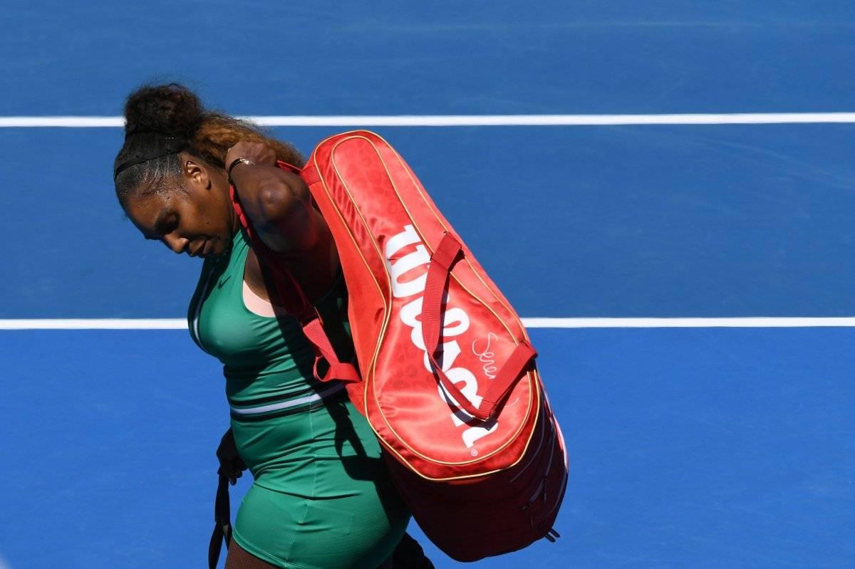 Serena Willimas es frenada en los cuartos de final del Abierto de Australia