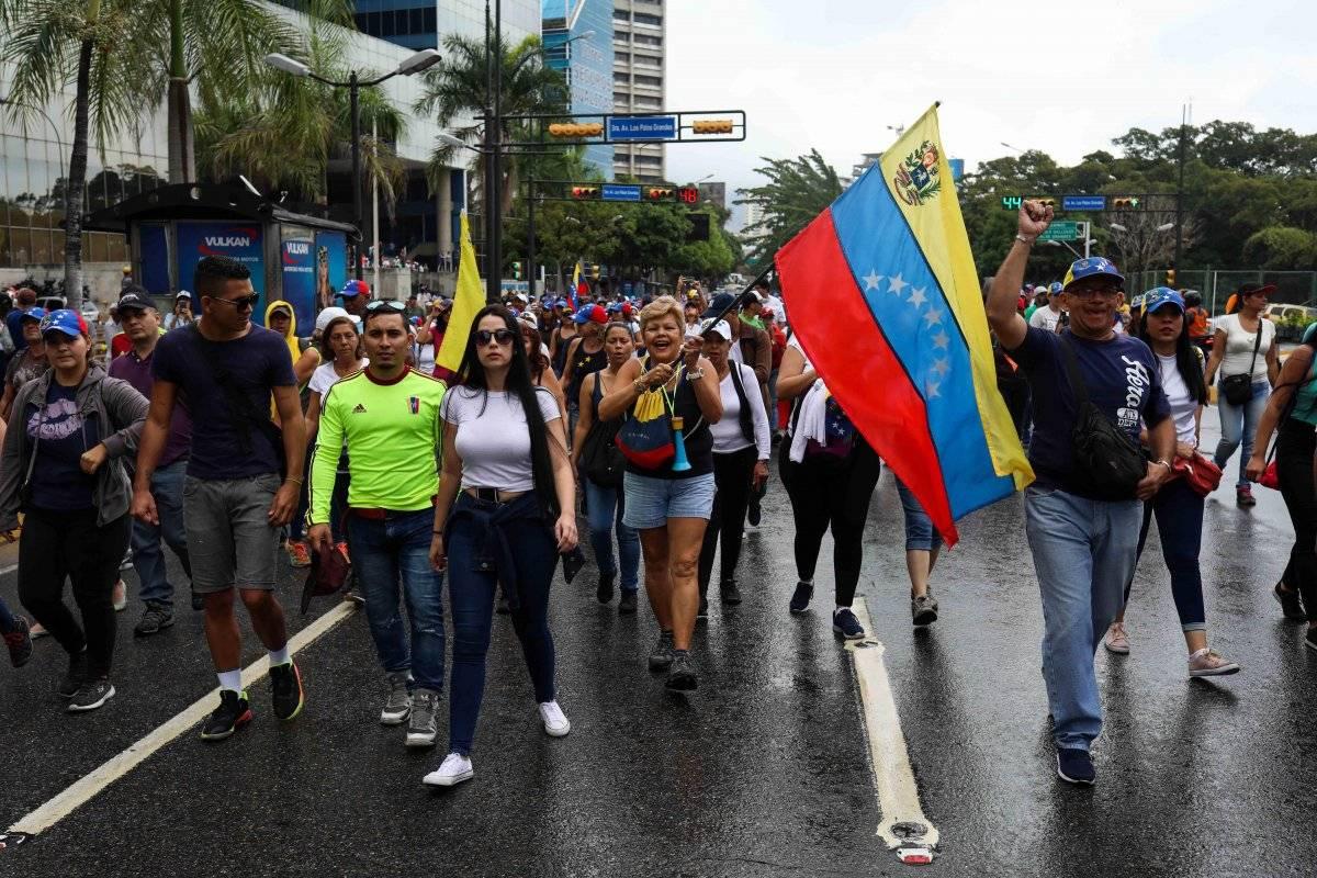 Protestas de Venezuela contra Maduro EFE