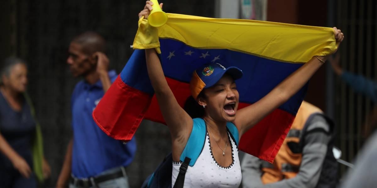 Las impactantes imágenes de las marchas en Venezuela contra Nicolás Maduro