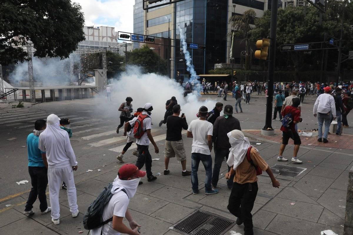 Ocho muertos por manifestaciones de Venezuela en contra de Nicolás Maduro EFE