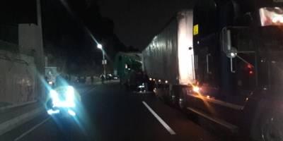 múltiple colisión en Km. 14 de ruta al Pacífico