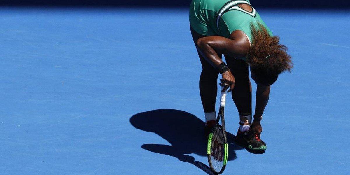 Cae Serena Williams ante Pliskova en cuartos de final de Australia