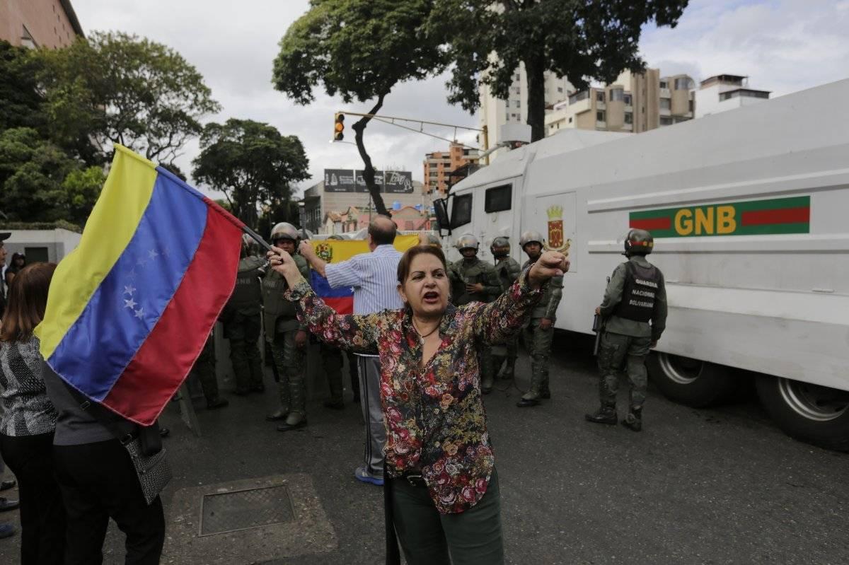 Marchas en Venezuela contra Nicolás Maduro AP