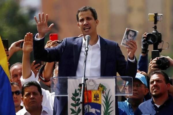 Juan Guaidó. AP