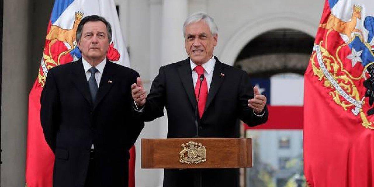"""Piñera respaldó a Guaidó y llamó a superar al """"mal llamado presidente Maduro"""""""