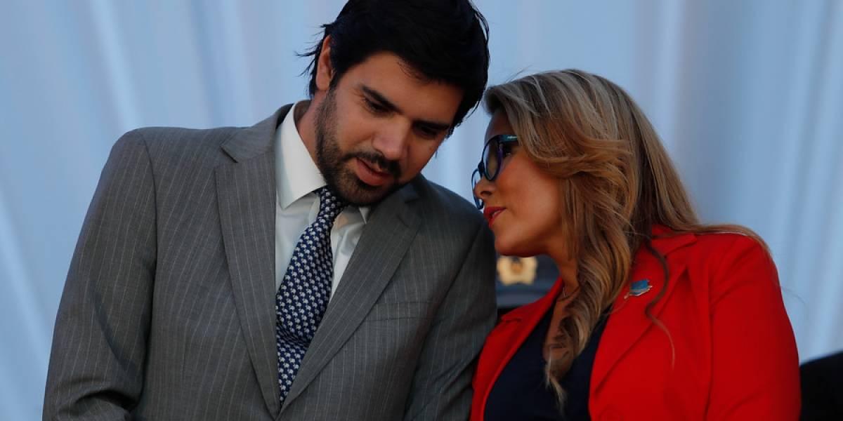 """Lavín Jr. sale en defensa de su esposa: """"Hay mucha gente que le gustaría que Cathy Barriga sea la próxima Presidenta de Chile"""""""