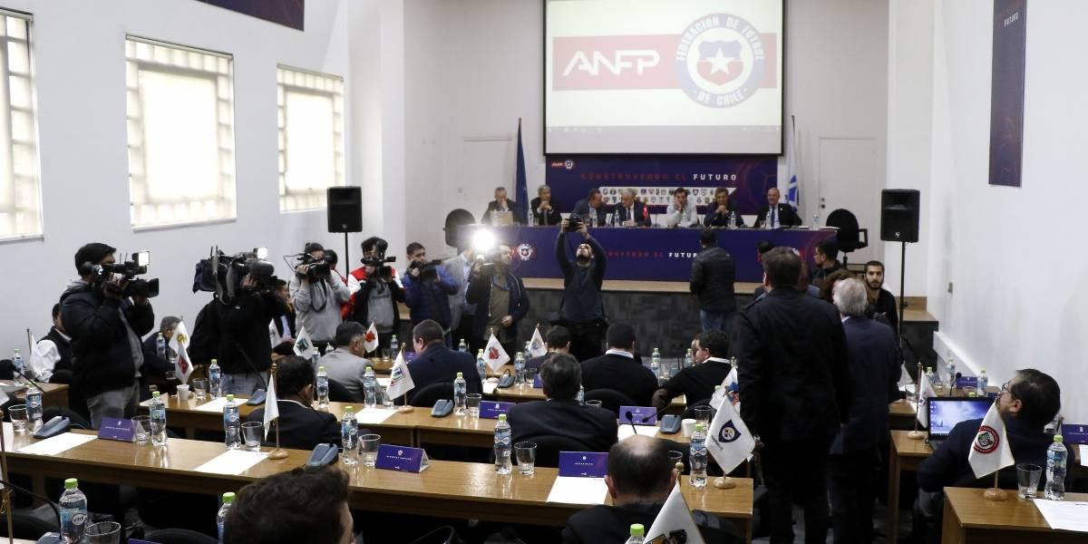 """El Fair Play Financiero """"a la europea"""" que aprobó el Consejo de Presidentes de la ANFP"""