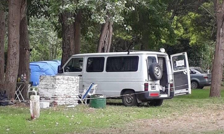Lugar del hecho, camping El Durazno (Christian N. Heit)