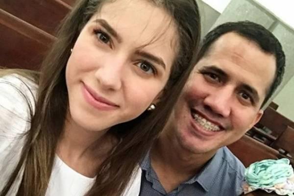 Juan Guaidó y su esposa, Fabiana Rosales