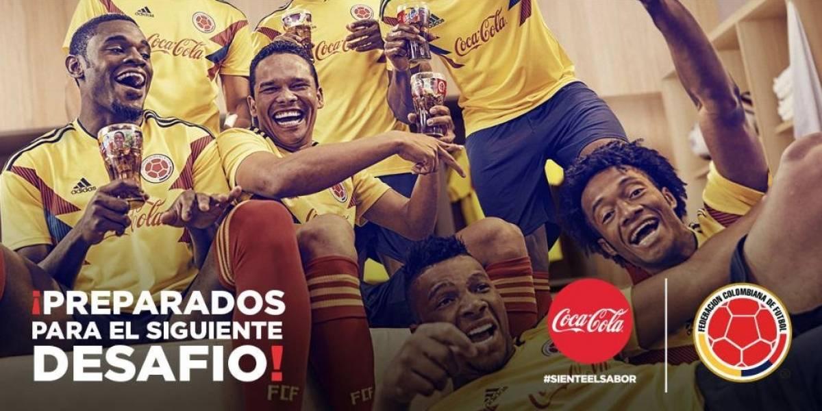 ¡Oficial! Coca-Cola ya no será más patrocinador de la Selección Colombia