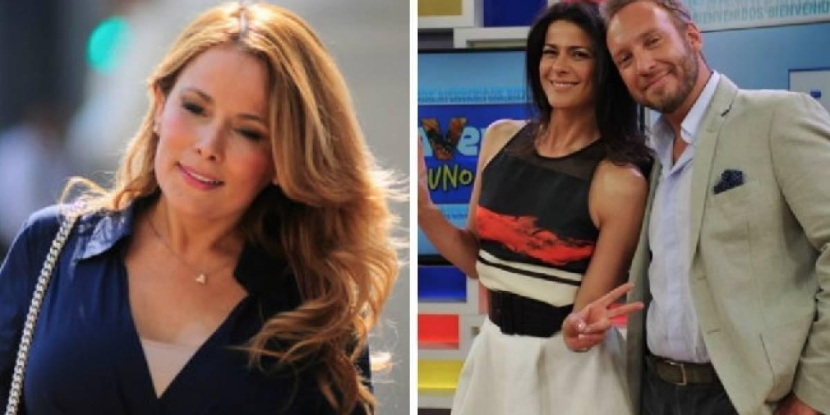 """Cathy Barriga arremete contra el matinal """"Bienvenidos"""" tras criticarla por mural: """"Eso se llama bullying"""""""