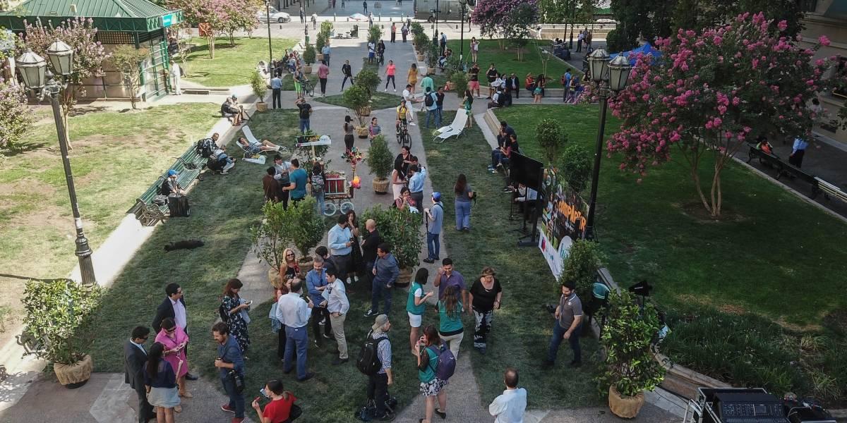 """""""Dale parque a tu vida"""": la campaña que busca fomentar el uso y cuidado de áreas verdes"""