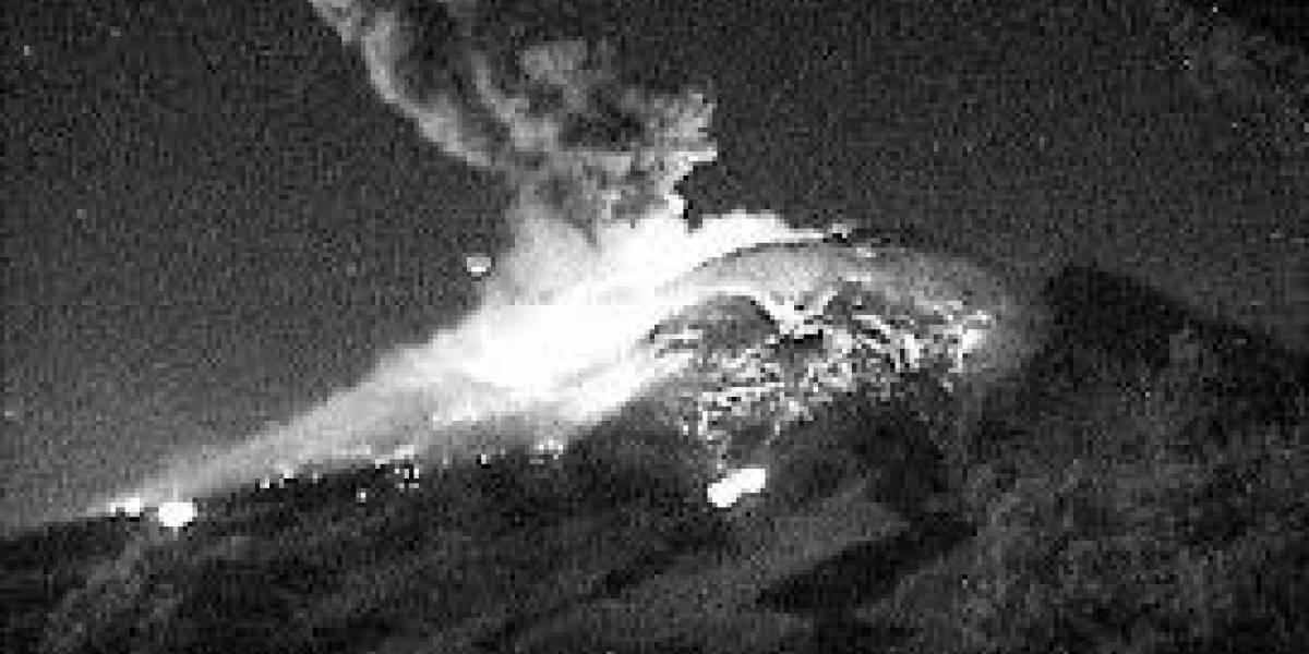 México: Se registra una explosión en el volcán Popocatépetl