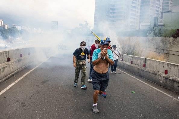 Marchas en Venezuela contra Nicolás Maduro Getty Images
