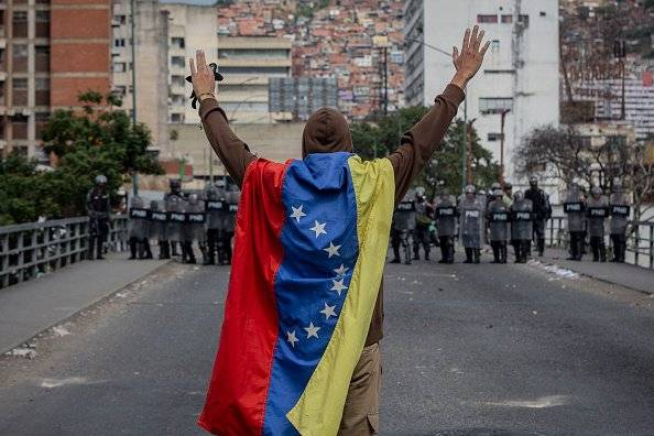 Marchas en Venezuela contra Nicolás Maduro