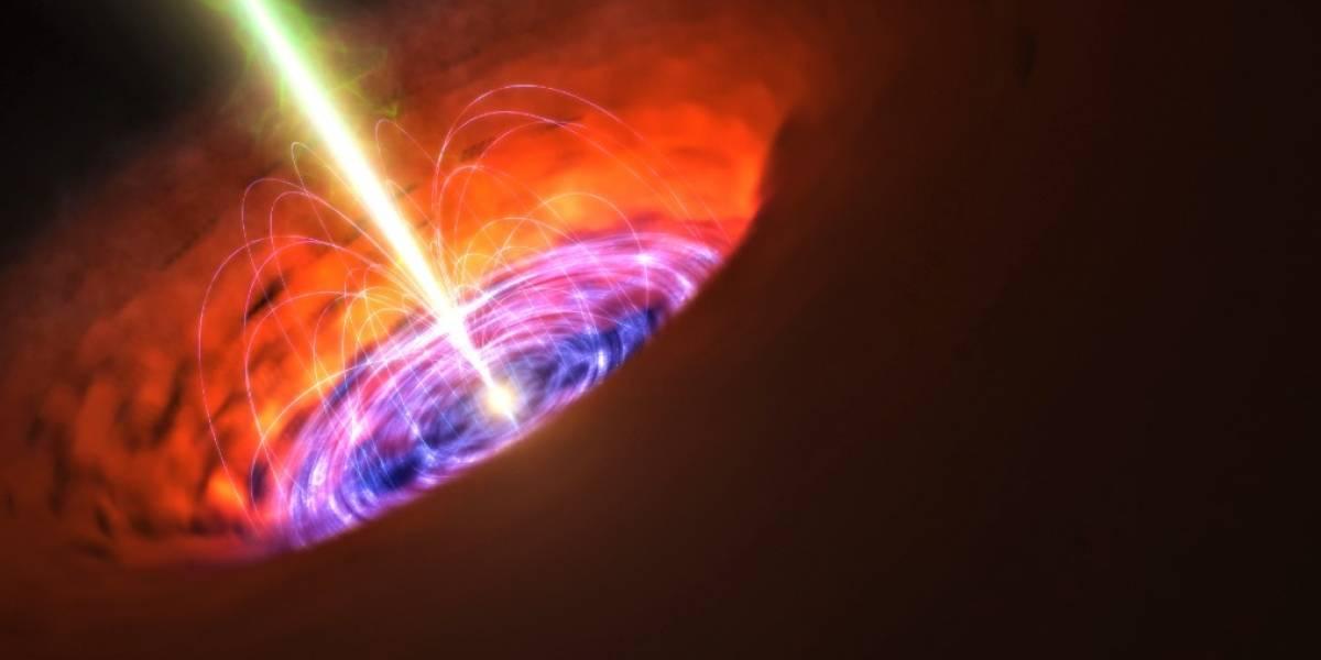 El agujero negro supermasivo del centro de nuestra galaxia manifiesta emisiones en dirección a la Tierra