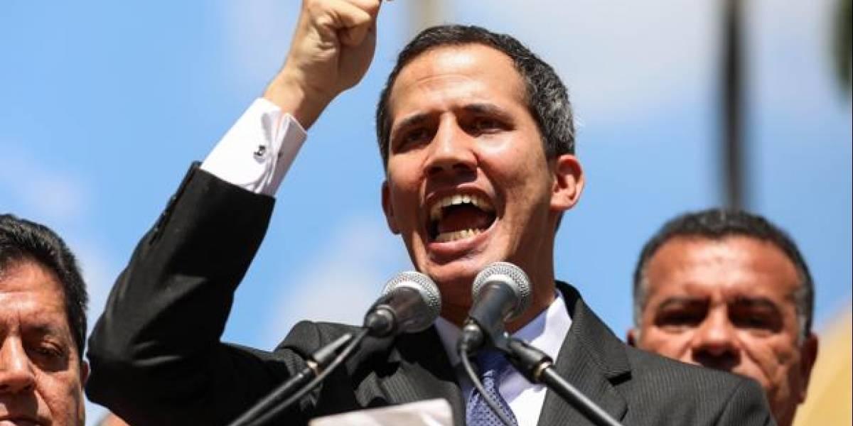 Venezuela: Juan Guaidó es presidente interino en Wikipedia