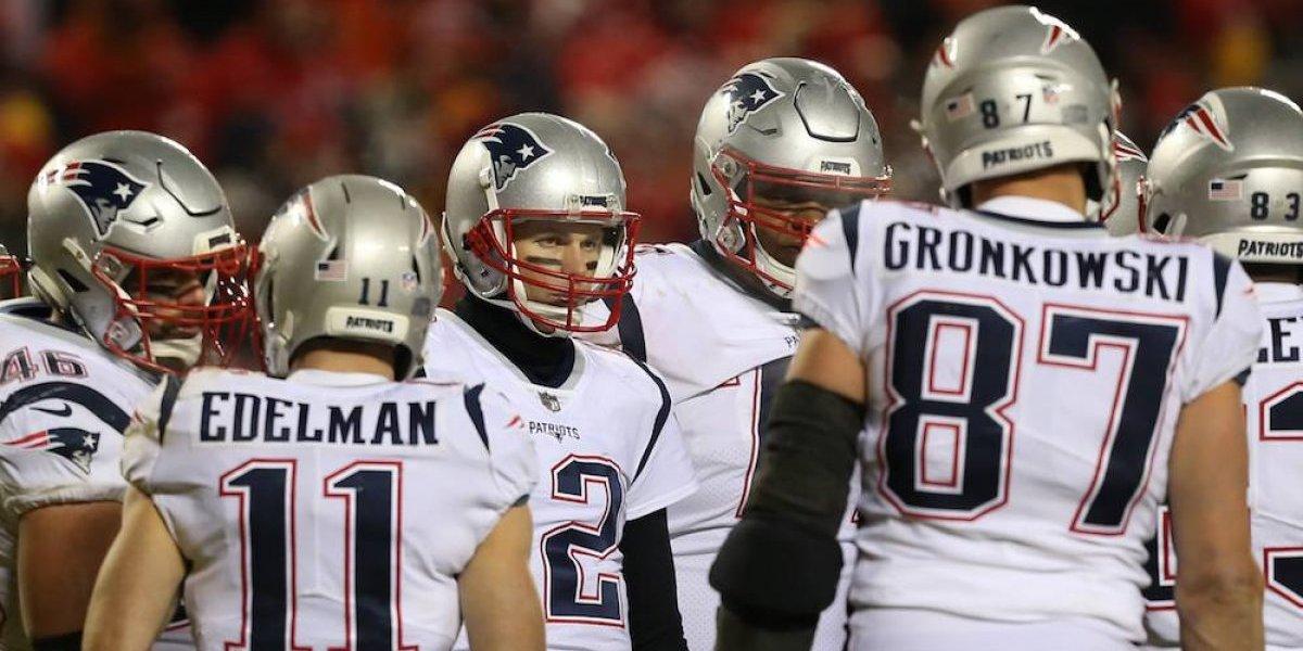 Patriots jugarán el Super Bowl LIII con su color de la suerte
