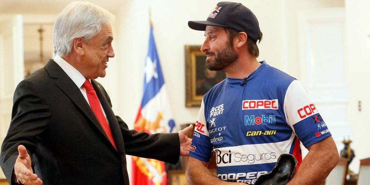 "La nueva promesa del Presidente Piñera: ""Va a volver a Chile el Dakar"""