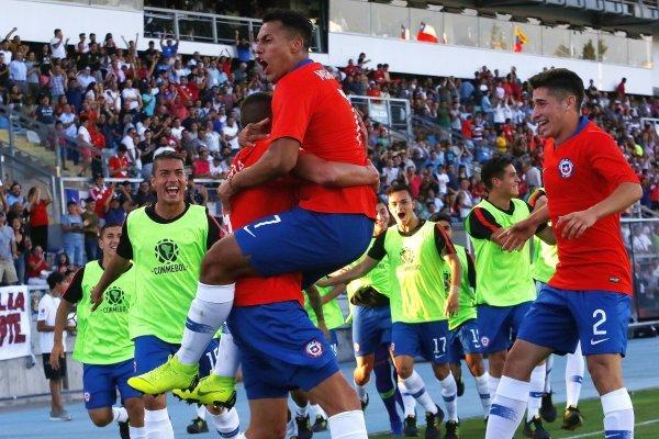 Chile vence a Brasil después de 20 años en un Sudamericano sub 20. / Photosport